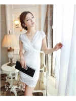 IceVanilla Linda Aristocratic Lace Dress