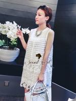 Seoul Secret Whity Layer Lace Dress