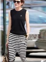 Seoul Secret CC Stripy Knit Set