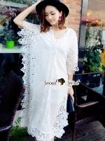 Seoul Secret Lace Maxi Dress