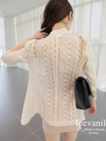 Icevanilla Luxury White See-through Lace Outer