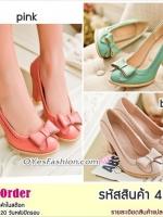 Preorder 4248p รองเท้าแฟชั่น 34-39