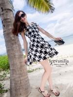 Icevanilla Chic Strapless Mini Dress