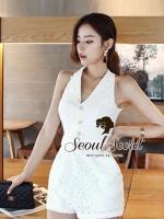 Seoul Secret Lovely Short Playsuit