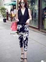 Seoul Secret Hibiscus V Collar Set