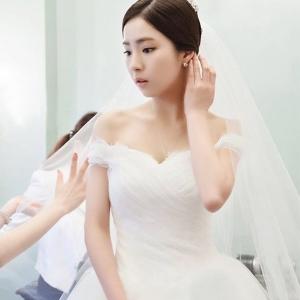(พร้อมส่ง) ชุดแต่งงาน <ไหล่ปาด> รหัสสินค้า WDL0646 ไซส์ 3XL