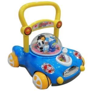 รถผลักเดิน แพนด้า (สีฟ้า) ปรับหนืดได้