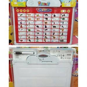 แผ่นเรียนรู้ Playmat ภาษาไทย - อังกฤษ (มีเสียง) ด้านหลังเป็นกระดานเขียน
