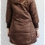 ((ขายแล้วครับ))((คุณPencyจองครับ))ca-2631 เสื้อโค้ทกันหนาวผ้าร่มสีน้ำตาล รอบอก38 thumbnail 2