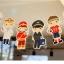 ผ้าสักหลาดเกาหลี jobboy size 1mm มี 7 แบบ ขนาด 45x30 cm/ชิ้น (Pre-order) thumbnail 1