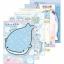 สมุดฉีก Jinbei-san สีฟ้า thumbnail 1