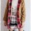 ((ขายแล้วครับ))((คุณSomitaจองครับ))ca-2702 เสื้อโค้ทกันหนาวผ้าวูลสีกากี รอบอก36 thumbnail 3