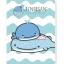 แฟ้ม Jinbesan สีน้ำเงิน 6 ช่อง+ซองซิป thumbnail 1