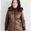 ((ขายแล้วครับ))((คุณPencyจองครับ))ca-2631 เสื้อโค้ทกันหนาวผ้าร่มสีน้ำตาล รอบอก38 thumbnail 1