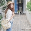 กระเป๋าเป้ยี่ห้อ Super Lover Sen Department of Small fresh canvas mini campus simple fashion Korea small bag (Preorder) thumbnail 4