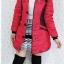 ((ขายแล้วครับ))((คุณPumpuiจองครับ))ca-2615 เสื้อโค้ทกันหนาวผ้าร่มสีแดง รอบอก38 thumbnail 3