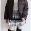 ((ขายแล้วครับ))((คุณTadaจองครับ))ca-2574 เสื้อแจ๊คเก็ตกันหนาวผ้าร่มขนเป็ดสีดำ รอบอก46 thumbnail 3