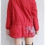 ((ขายแล้วครับ))((คุณSirlukจองครับ))ca-2603 เสื้อโค้ทกันหนาวผ้าร่มสีแดง รอบอก40 thumbnail 2