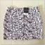 Topshop Heart Purple Black Skirt Size Uk10 thumbnail 1