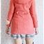 ((ขายแล้วครับ))((ขายแล้วครับ))((คุณKatจองครับ))ca-2675 เสื้อโค้ทกันหนาวผ้าวูลสีชมพู รอบอก33 thumbnail 2