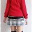 ((ขายแล้วครับ))((จองแล้วครับ))ca-2583 เสื้อโค้ทกันหนาวผ้าวูลสีแดง รอบอก34 thumbnail 2