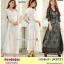 Preorder เดรสผ้าลูกไม้ใหญ่ สีขาว ดำ XL-3XL thumbnail 1