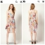 Warehouse Barearic print Dress Size uk8-10 thumbnail 2