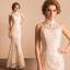 (เช่าชุดราตรี) ชุดแต่งงาน <สีขาว> รหัสสินค้า EK_WDL0756 thumbnail 1