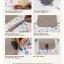 ผ้าสักหลาดเกาหลี stamp ขนาด 45x30 cm/ชิ้น (Pre-order) thumbnail 9