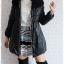 ((ขายแล้วครับ))((คุณนิตยาจองครับ))ca-2577 เสื้อโค้ทกันหนาวผ้าร่มสีดำ รอบอก36 thumbnail 3