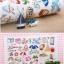 ผ้าสักหลาดเกาหลี ลาย Summer vacation size 1mm (Pre-order) ขนาด 45x30cm thumbnail 7