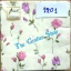 napkin ลายดอกกุหลาบ (รหัสสินค้า NA-1201) thumbnail 1