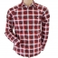 Topman Red Long Sleeve Indie Summer Shirt Size M thumbnail 1