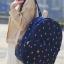 กระเป๋าเป้สะพายยี่ห้อ Superlover ดอกไม้สไตส์ญี่ปุ่นและเกาหลี รุ่นอัปเกรดมีกระเป๋าข้าง (Pre-Order) thumbnail 7