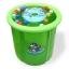 สระว่ายน้ำขอบตั้ง สีเขียว 70x70cm. thumbnail 1