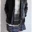((ขายแล้วครับ))((คุณNingจองครับ))ca-2554 เสื้อโค้ทกันหนาวผ้าร่มสีดำ รอบอก46 thumbnail 3
