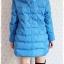 ((ขายแล้วครับ))((คุณพรทิพย์จองครับ))ca-2689 เสื้อโค้ทกันหนาวผ้าร่มขนเป็ดสีฟ้า รอบอก41 thumbnail 2
