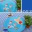 ผ้าสักหลาดเกาหลี ลาย Summer vacation size 1mm (Pre-order) ขนาด 45x30cm thumbnail 6