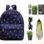 กระเป๋าเป้สะพายยี่ห้อ Superlover ดอกไม้สไตส์ญี่ปุ่นและเกาหลี รุ่นอัปเกรดมีกระเป๋าข้าง (Pre-Order) thumbnail 3
