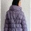 ((ขายแล้วครับ))((คุณรัตนาจองครับ))ca-2553 เสื้อโค้ทกันหนาวผ้าร่มขนเป็ดสีเทาคราม รอบอก42 thumbnail 2