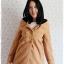 ((ขายแล้วครับ))((คุณKatจองครับ))ca-2682 เสื้อโค้ทกันหนาวผ้าวูลสีไขไก่ รอบอก34 thumbnail 1