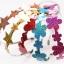ผ้าสักหลาดเกาหลีสี Hologram felt / Holographic felt size 1.2mm ขนาด 23x29 cm มี 13 สี/ชิ้น (Pre-order) thumbnail 5