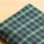 ผ้าคอตต้อนเกาหลี ลายตาราง Robin ผ้าฝ้าย 100% 20s ตัดขายขนาด 110x90 cm thumbnail 1