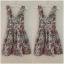 Topshop By Love Floral Dress Size M thumbnail 2
