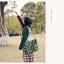 กระเป๋าสะพายยี่ห้อ Super Lover สไตล์ญี่ปุ่นลายสีขาวเขียว (Pre-Order) thumbnail 4
