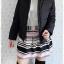 ((ขายแล้วครับ))((จองแล้วครับ))ca-2641 เสื้อโค้ทกันหนาวผ้าร่มขนเป็ดสีดำ รอบอก42 thumbnail 3