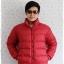 ((ขายแล้วครับ))((คุณWipawanจองครับ))cm-100 เสื้อแจ๊คเก็ตกันหนาวสีแดง รอบอก46 thumbnail 1