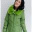 ((ขายแล้วครับ))((คุณKaiจองครับ))ca-2607 เสื้อโค้ทกันหนาวผ้าร่มสีเขียว รอบอก38 thumbnail 1