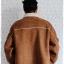 ((ขายแล้วครับ))((คุณIceจองครับ))cm-99 เสื้อแจ๊คเก็ตกันหนาวผ้าชามัวร์สีน้ำตาล รอบอก56 thumbnail 2