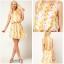 ASOS Floral Dress Size Uk8 =2 thumbnail 1